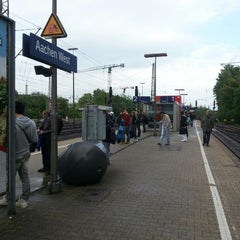Photo taken at Bahnhof Aachen West by Ying-Chia L. on 5/11/2013