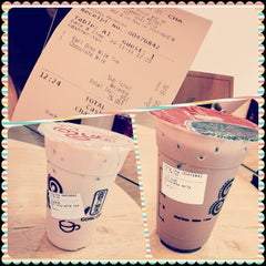 Photo taken at Gong Cha 贡茶 by Gan Chin Boon Vycent 颜. on 11/11/2013