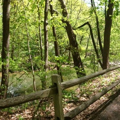 Photo taken at Wissahickon Valley Park by Veo G. on 5/1/2013