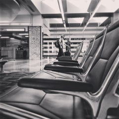 Photo taken at Concourse B - Richmond International Airport by Jarod Z. on 1/17/2014