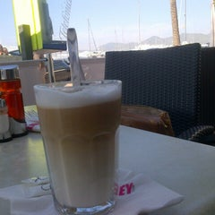 Photo taken at Cafe Sydney Ibiza by Samira S. on 10/10/2012