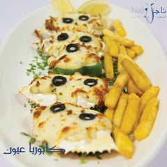 Photo taken at Najil alba7r || ناجل البحر by Najil alba7ar Restaurant م. on 4/25/2015