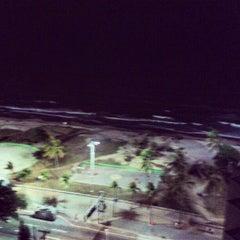 Photo taken at Praia do Pina by Oto F. on 12/31/2012