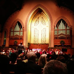 Photo taken at Middle Collegiate Church by Elissa H. on 12/24/2012