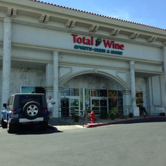 Photo taken at Total Wine & More by Miguel B. on 4/19/2013