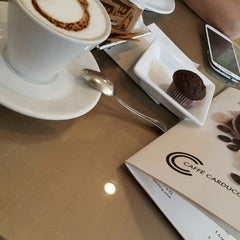 Photo taken at Caffe' Carducci by Emel B. on 9/7/2015