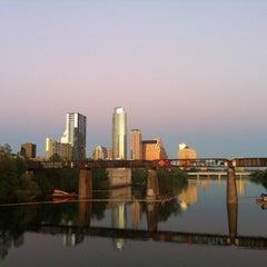 Photo taken at Pfluger Pedestrian Bridge by Emily L. on 3/24/2012