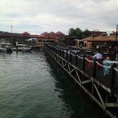 Photo taken at Jesselton Point by Zaidatul Mazwin AR on 11/17/2012