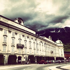 Photo taken at Hofburg Innsbruck by Ricardo M. on 5/22/2013