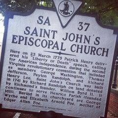 Photo taken at St. John's Church by Mandy G. on 9/7/2014