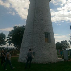Photo taken at Concord Point and Lighthouse by baroness kelli . on 8/24/2014
