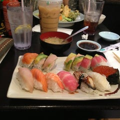 Photo taken at Sushi Deli 1 by Carissa C. on 5/8/2013