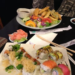 Photo taken at Sushi Deli 1 by Carissa C. on 4/18/2013
