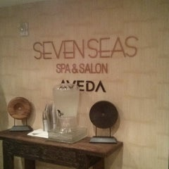 Photo taken at Seven Seas Spa & Salon by Philly G. on 12/7/2013