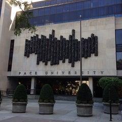 Photo taken at Pace University by Boris G. on 9/22/2013