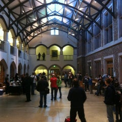 Photo taken at UW: Mary Gates Hall by Leif U. on 10/20/2012