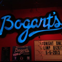 Photo taken at Bogart's by Konstantin S. on 5/6/2013