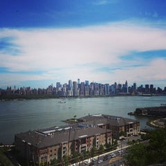 Photo taken at North Bergen Overlook by Dusan D. on 5/17/2013