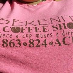 Photo taken at Serenity Coffee Shop by Amanda V. on 7/3/2013