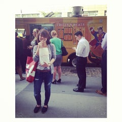 Photo taken at Food Truck Court by Prapaporn P. on 10/3/2013