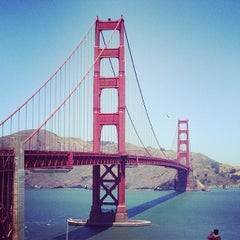 Photo taken at Golden Gate Bridge by Dhanesh S. on 6/20/2013