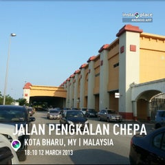 Photo taken at Sultan Ismail Petra Airport (KBR) by Trd T. on 3/12/2013