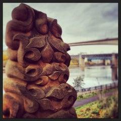 Photo taken at Redheugh Bridge by john h. on 11/18/2013