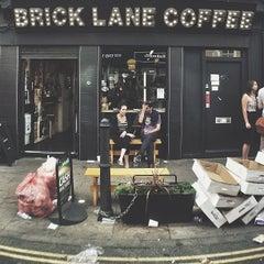 Photo taken at Brick Lane Coffee by Bal B. on 9/2/2013