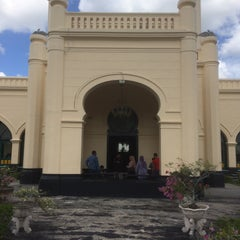 Photo taken at Istana Sultan Siak by Lukas H. on 1/15/2015
