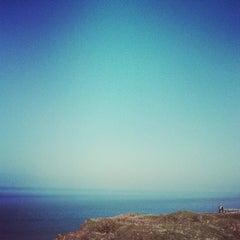 Photo taken at Cap Gris Nez by adarsh n. on 4/21/2013