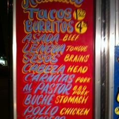 Photo taken at El Ranchito Taco Truck by Jason on 12/27/2010