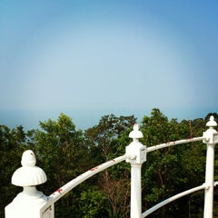 Photo taken at Muka Head Lighthouse by Kate Z. on 3/1/2014