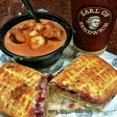 Photo taken at Earl of Sandwich by Crystal L. on 10/10/2012