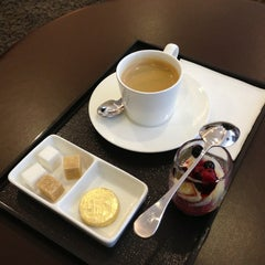 Photo taken at Etihad Airways Lounge by Meem A. on 3/1/2013