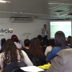 Photo taken at Universidade Estácio de Sá by Natália P. on 8/16/2014