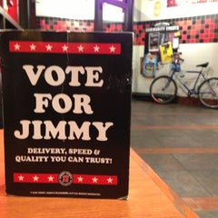 Photo taken at Jimmy John's by Mo N. on 11/1/2012