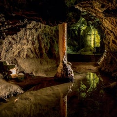 Photo taken at The National Showcaves Centre for Wales by Mick Y. on 6/21/2015