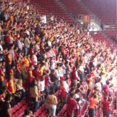 Photo taken at Abdi İpekçi Arena by Okan G. on 4/29/2013