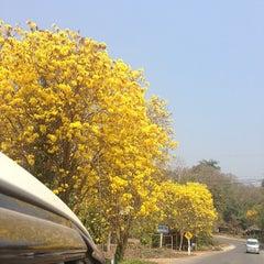 Photo taken at Krisdadoi Resort Chiang Mai by borwon w. on 3/2/2014