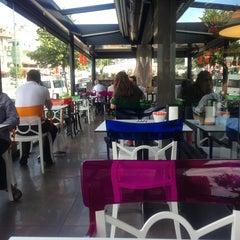 Photo taken at Görgülü Cafe by Banu K. on 7/4/2013