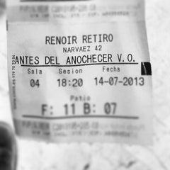 Photo taken at Cines Renoir Retiro by Jeremy C. on 7/17/2013