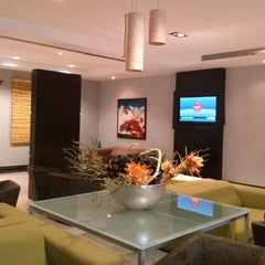 Photo taken at FBO/Servair - VIP lounge at AILA by Marianne P. on 5/25/2013