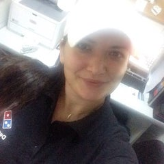 Photo taken at Domino's Pizza by Melis G. on 10/27/2014