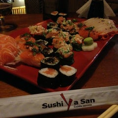 Photo taken at Sushi Ya San by Luciana C. on 10/27/2013