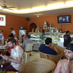 Photo taken at Nira's Home Bakery and Deli by Ivan R. on 1/7/2013