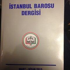 Photo taken at İstanbul Barosu by Elmas D. on 7/27/2013