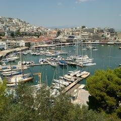 Photo taken at Ναυτικός Όμιλος Ελλάδος (Yacht Club of Greece) by Sean Sung-keun K. on 7/26/2013