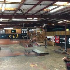 Photo taken at Skatepark Of Tampa by Joshua R. on 1/3/2013