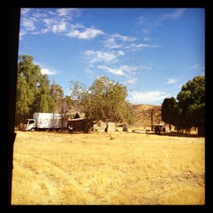 Photo taken at Agua Dulce Movie Ranch / SOS Filmworks by Tracy S. on 9/20/2012