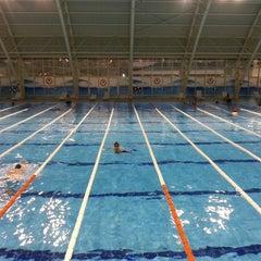 Photo taken at 29 Ekim Olimpik Yüzme Havuzu by Umut Y. on 5/30/2013